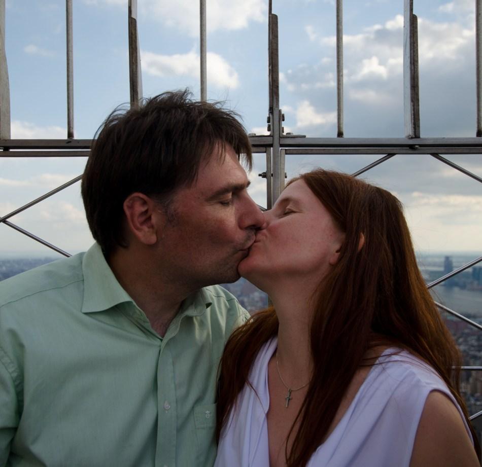 """Mein Mann und ich auf DER Sehenswürdigkeit ! Genau """"SEHENswürdigkeit"""" bitte wörtlich nehmen."""