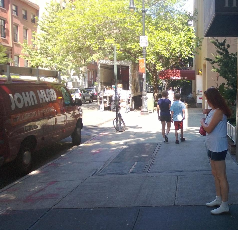 Meine besondere Sehenswürdigkeit: Die Strassen mit den Backsteinhäuschen