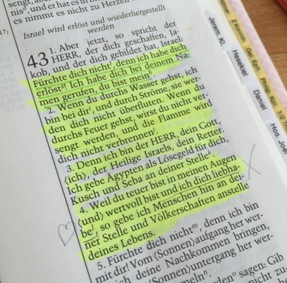 Mutig und Stark mit Gottes Zusagen!