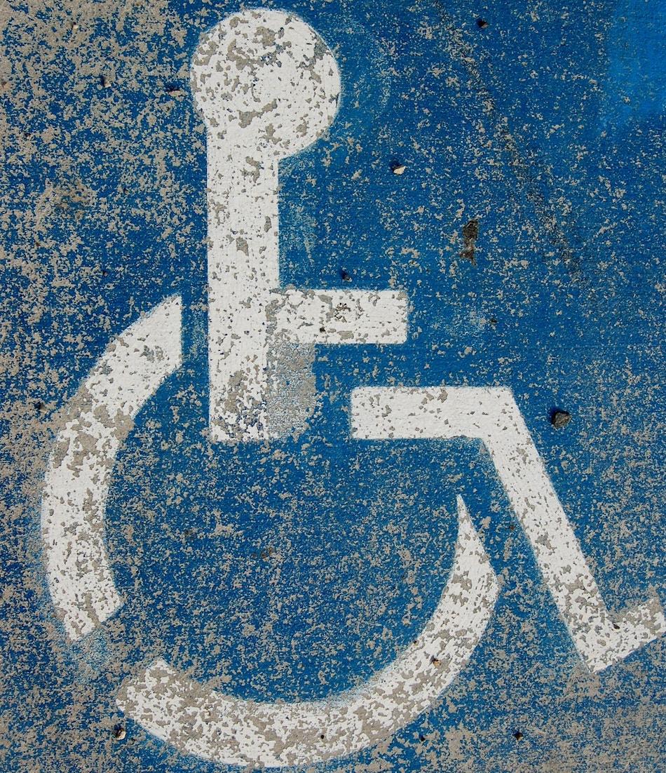 Fest im Rollstuhl