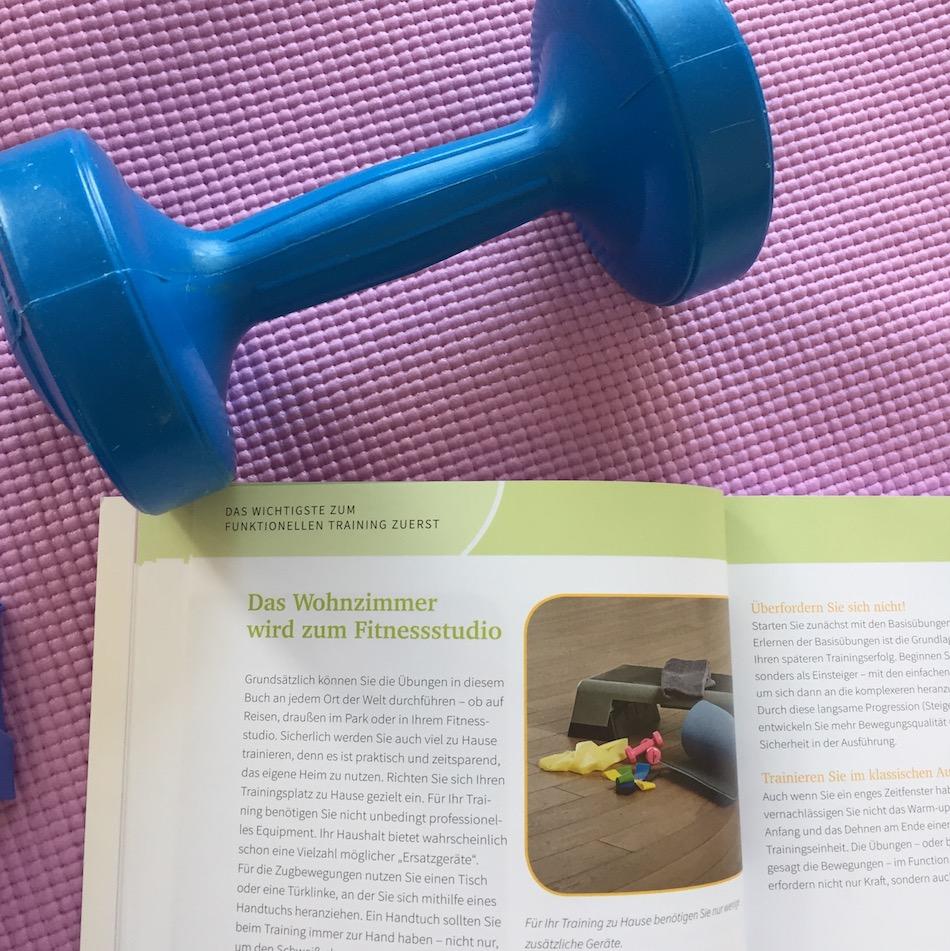 """""""Funktional Training für Frauen"""" - Buchbesprechung, """"Must Haves"""" fürs Training!"""