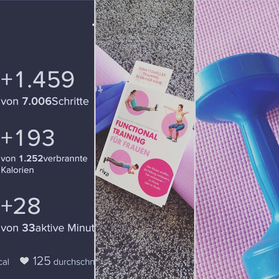 """""""Funktional Training für Frauen"""" - Buchbesprechung, mein Trainingsplan, motivierende Ergebnisse"""