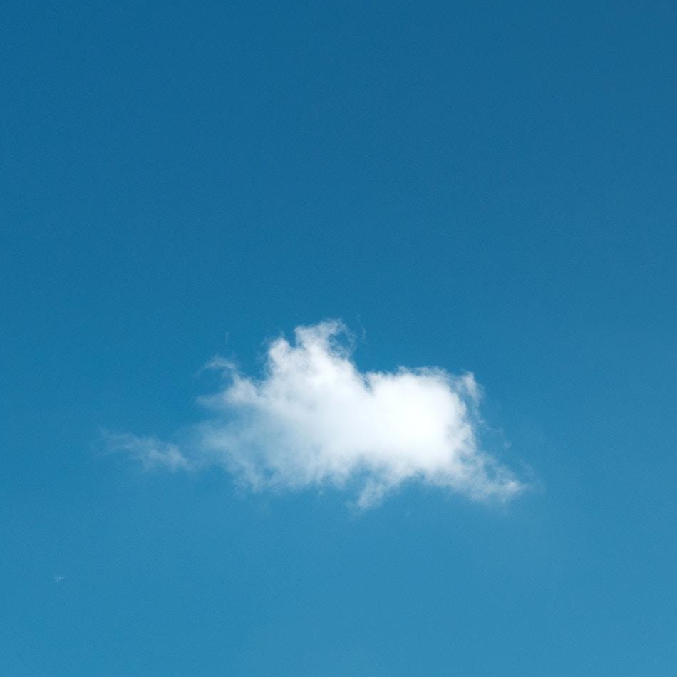 Die dunkle Wolke soll wieder weiß und fluffig werden!